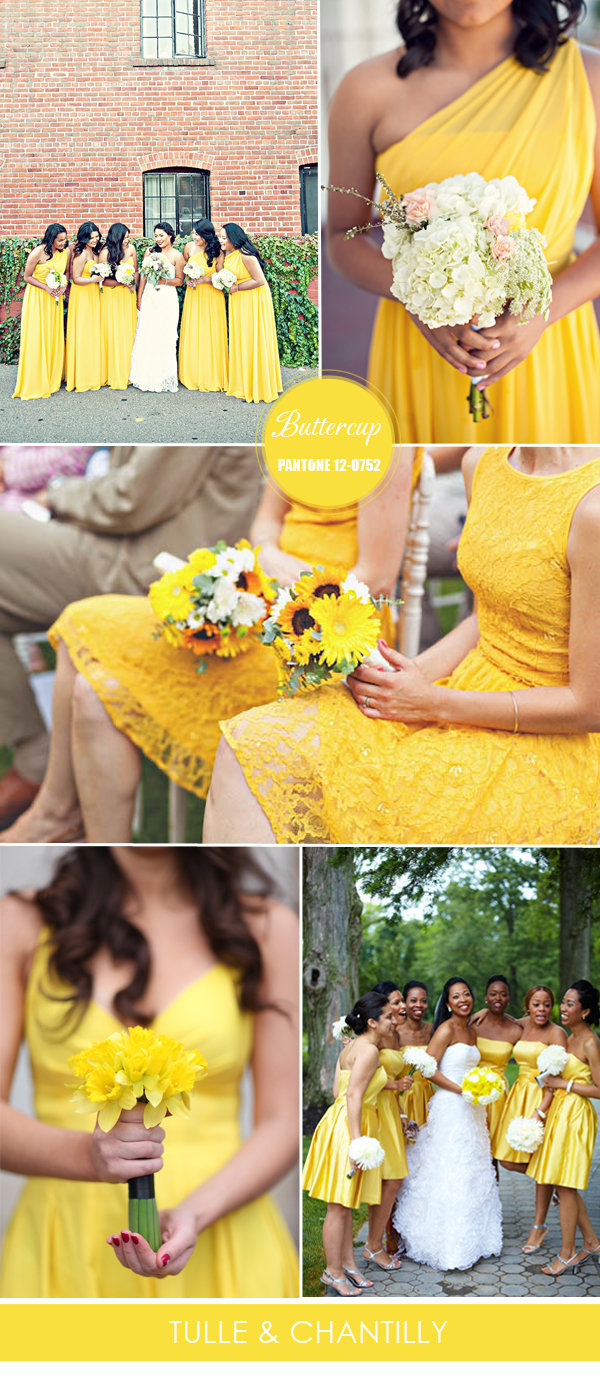 spring-summer-bright-yellow-buttercup-bridesmaid-dresses-inspiration-2016